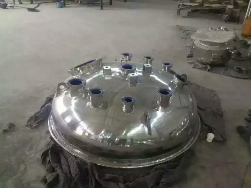 搪瓷釜盖外包不锈钢